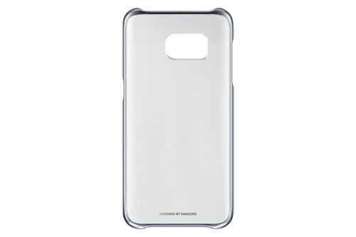 Samsung Etui Clear Cover Czarne do Galaxy S7 Edge EF-QG935CBEGWW