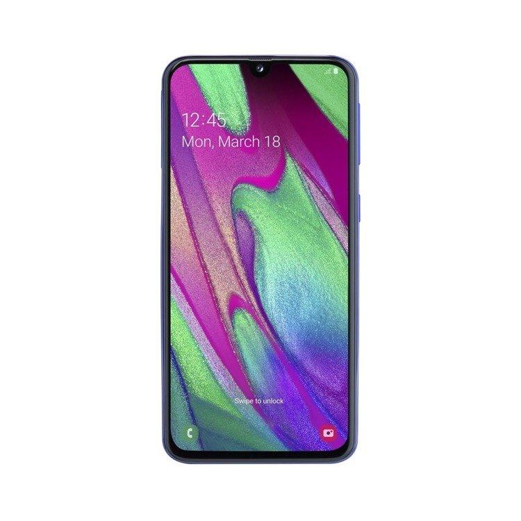 Samsung Galaxy A40 Niebieski 4/64GB (SM-A405FZBDXEO) /OUTLET