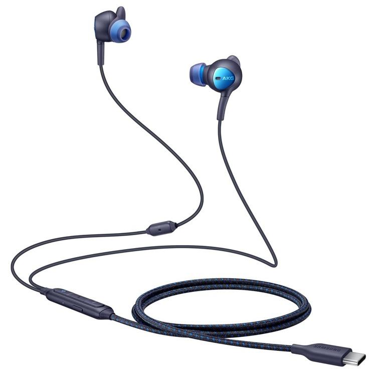 Samsung Słuchawki Stereo ANC Type-C Czarne (EO-IC500BBEGWW)