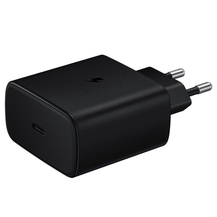 Samsung Szybka Ładowarka podróżna (45W) USB-C Czarna (EP-TA845_BULK)