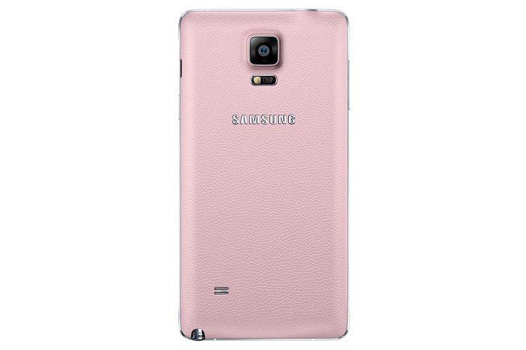 Samsung Tylna osłona Różowa do Galaxy Note 4 EF-ON910SPEGWW
