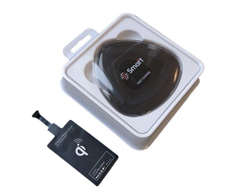 SmartGPS Ładowarka Bezprzewodowa Qi z adapterem microUSB LB01