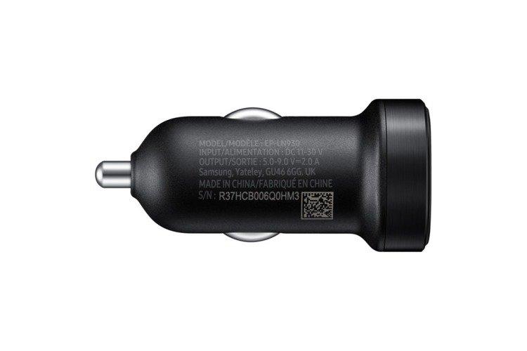 Szybka Ładowarka samochodowa Samsung USB-C EP-LN930CBEGWW