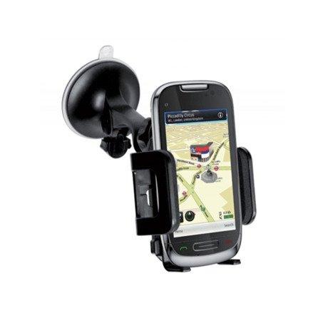 """Uchwyt Samochodowy SBS do Smartfonów 5"""" Czarny"""