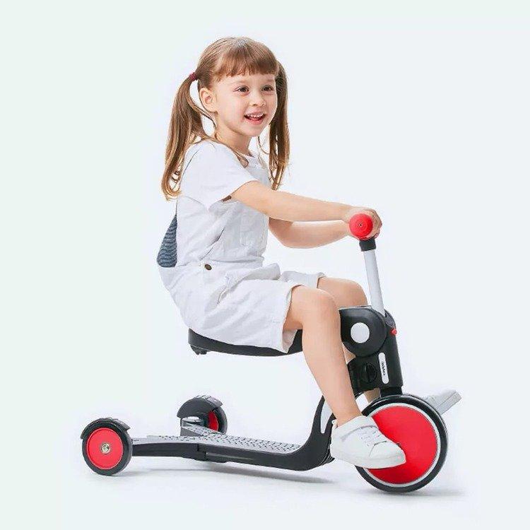 Wielofunkcyjny pojazd dziecięcy 5 w 1 BeBehoo Czerwony