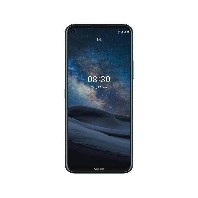 Zestaw NOKIA 8.3 5G Granat Polarny Dual SIM 8/128GB + Etui + Nokia Earbuds BH-405